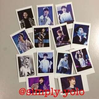 Instock EXO Concert Polaroids