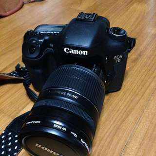 Awesome Canon 7D With 18-200mm EFS Lens