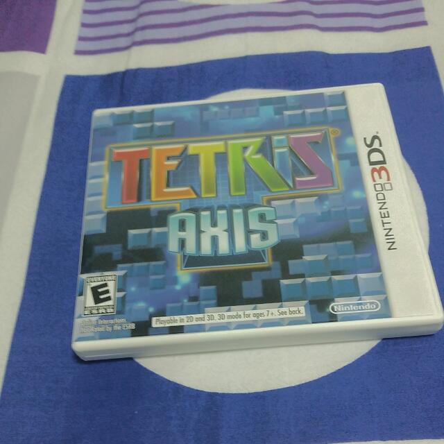 3DS Tetris Axis