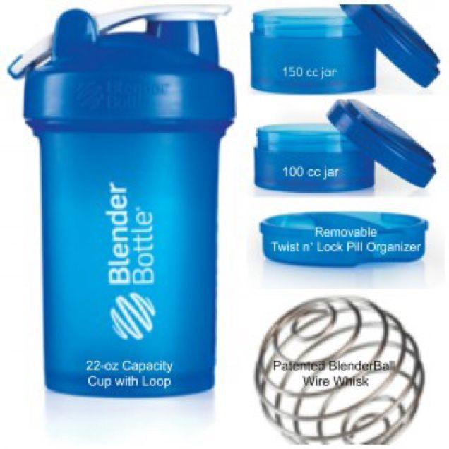 Blender bottle Prostak 22oz/ 620ml, Sports on Carousell