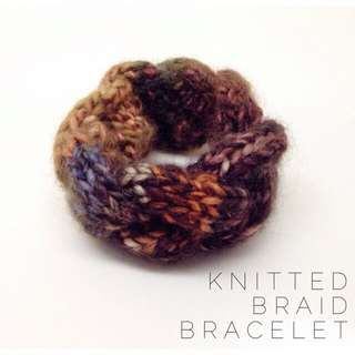 Knitted Braid Bracelet #1