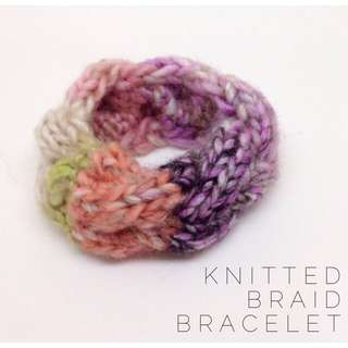 Knitted Braid Bracelet #2
