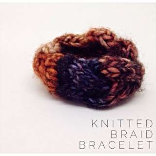 Knitted Braid Bracelet #3