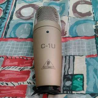 Beringer c1u. Condenser USB Microphone