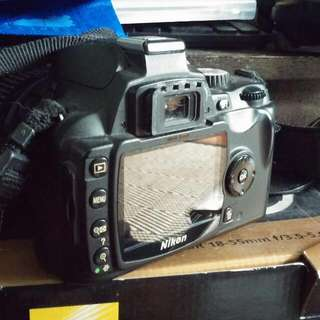 Nikon D60 with Hoya Lens Guard