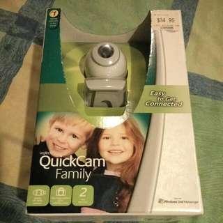 Logitech QuickCam Family Webcam