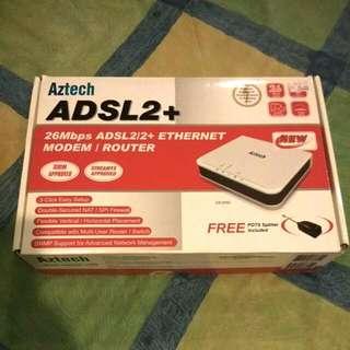 Aztech ADSL2+ Modem / Router