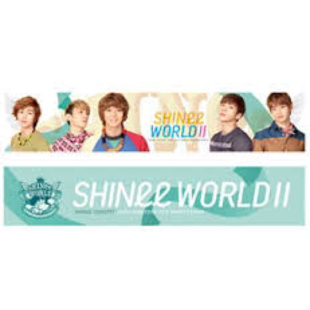 SHINee World 2 Slogan Towel