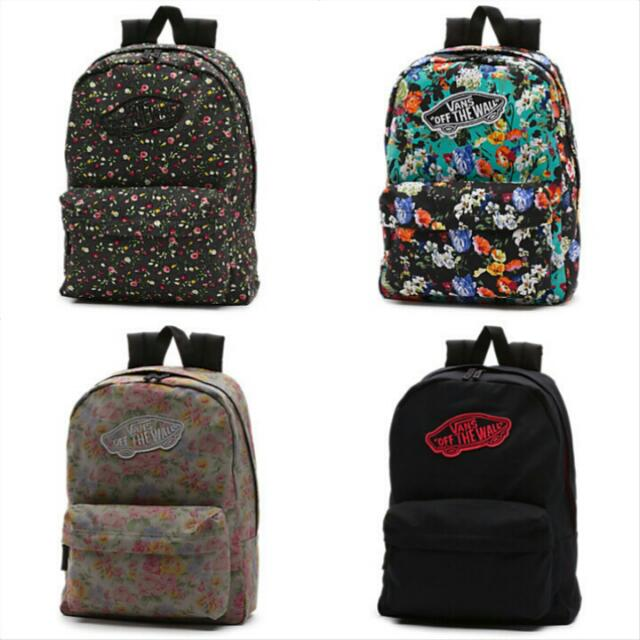 ab8f787f06 Vans Off The Walls Backpack, Women's Fashion on Carousell