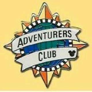 Disney Adventure Club Pin