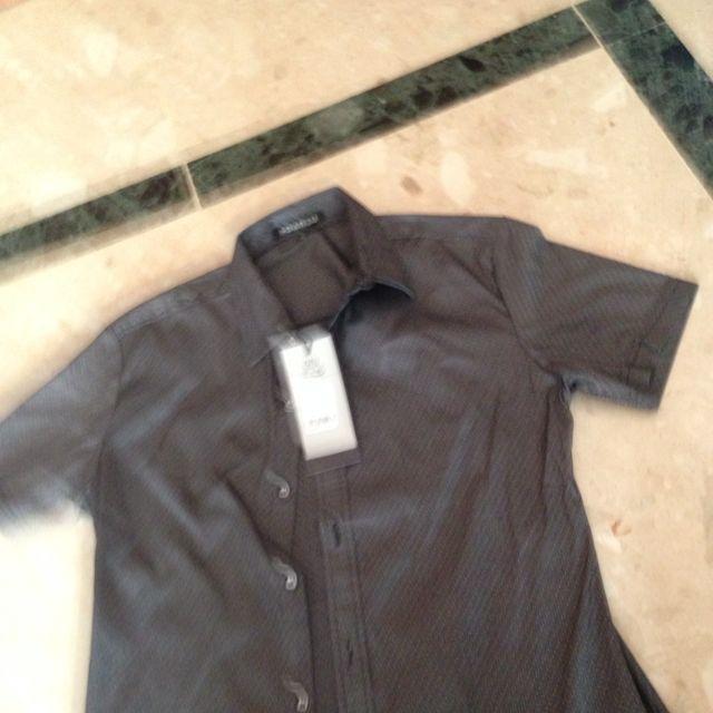 Brand New Designer Shirt Grey.