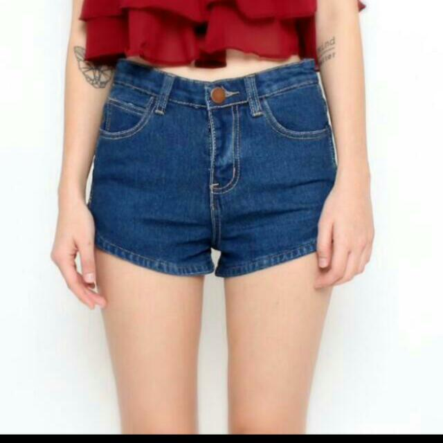 Curve Denim Shorts