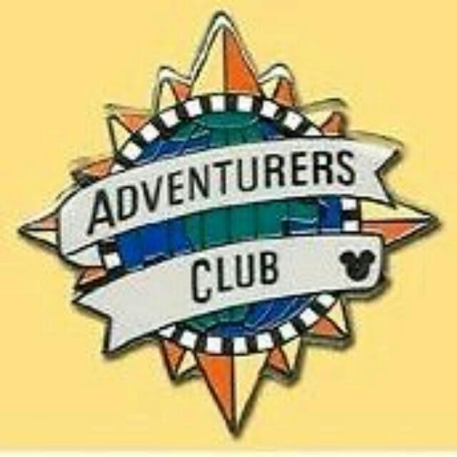 Disney Adventure Club Pin