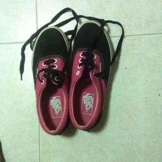 Pink And Black Vans