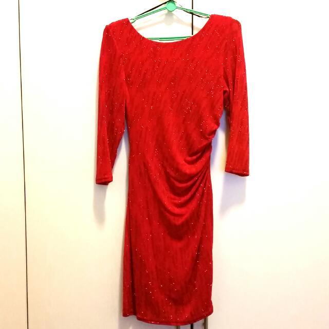 New Look Elegant Red Dress