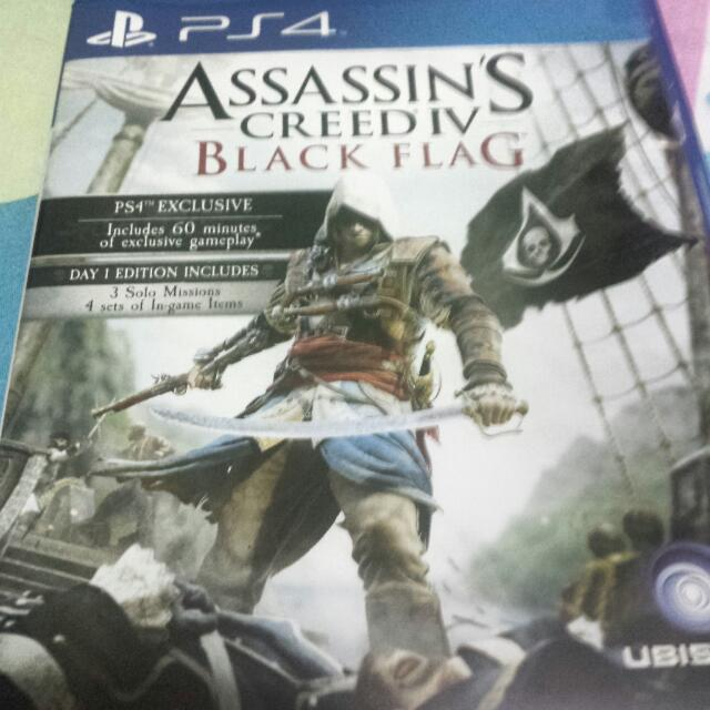 PS4 - Assassin's Creed - Black Flag