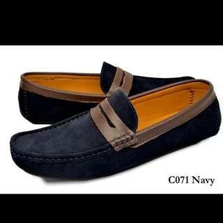 [Pre-order] TOMAZ Leather Men's Shoes C071 Navy
