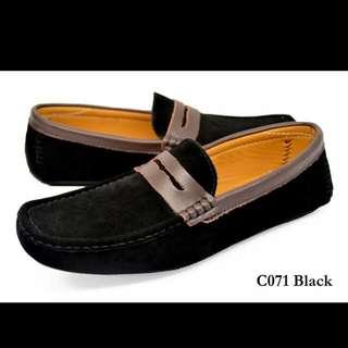 [Pre-order] TOMAZ Leather Men's Shoes C071 Black