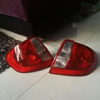 Rear Coverset Hyundai Getz