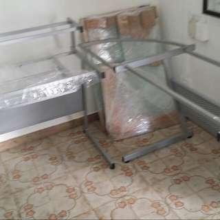 Study Table Glass $75