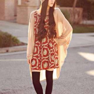 Authentic Editors Market Babydoll Dress