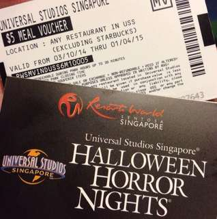 [Pending] A Pair Of Halloween Horror Nights Tickets