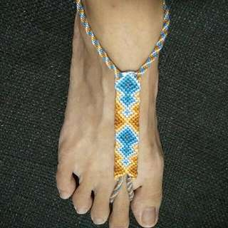 Knotted & Braided Barefoot Sandals