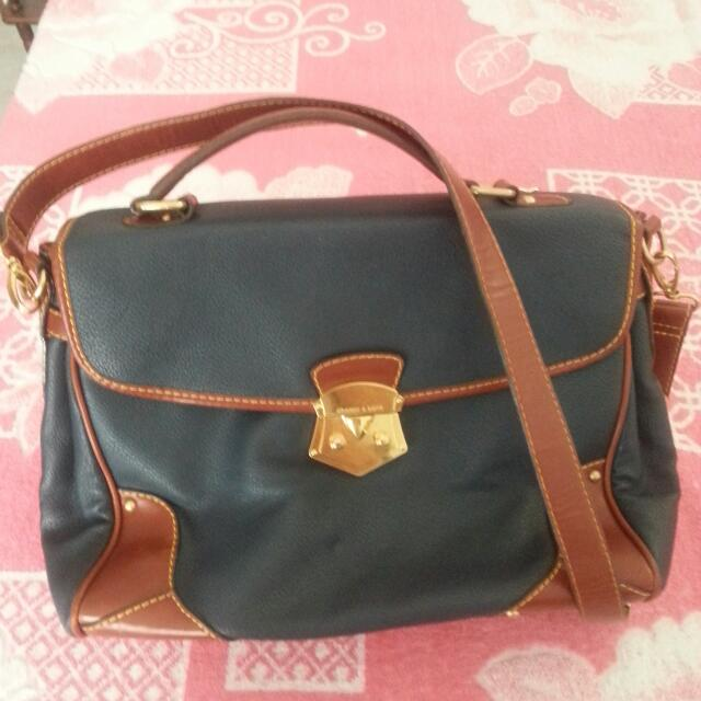 CHARLES AND KEITH SATCHEL BAG *price reduced*