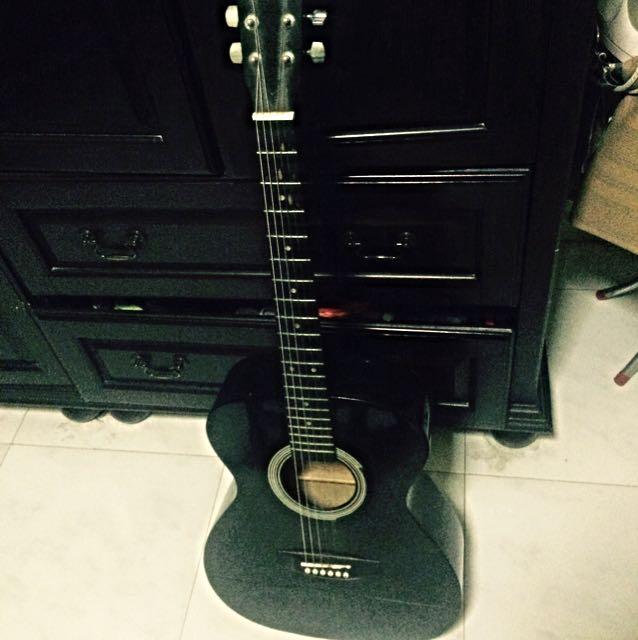 Selling Tgm Guitar Brand Black Colour No Guitar Bag Casing Music