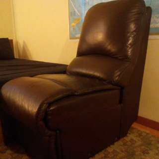 Authentic Leather Sofa