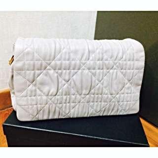 Dior Medium Flap Cannage Lambskin Bag