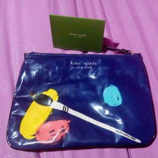 100% Authentic Kate Spade Make Up Pouch