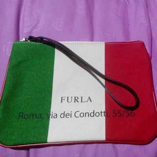100% Authentic Furla Wristlet