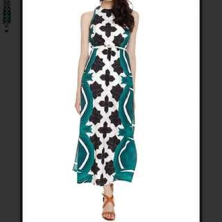 MDS Tile Maxi Dress
