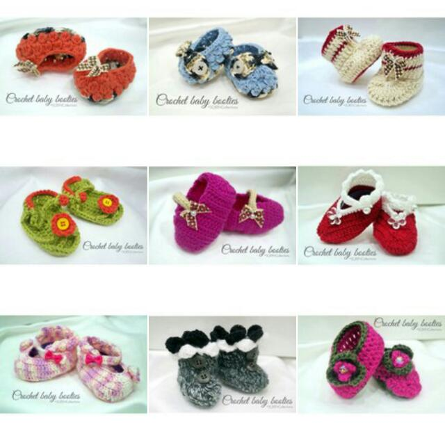 Crochet Baby Booties For Sale Inclusive Of Mailing Womens