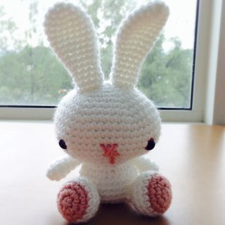 DIY Crochet Spring Bunny Amigurumi PATTERN Easy to follow PDF | Etsy | 320x320