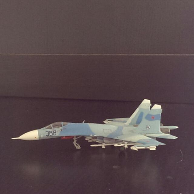 1:200 SU-27 (World Aircraft Collection) , Toys & Games
