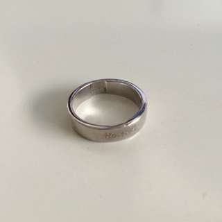 Agnes B Silver Ring Size S