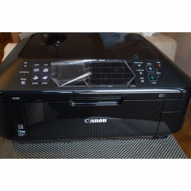 Canon MX 885 All In One Printer