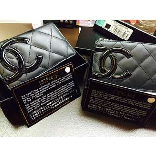 Chanel Cambon Card Holder & Pouch