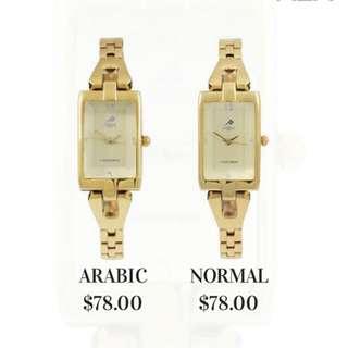 BNIB MEM Watches (Anti Clockwise)