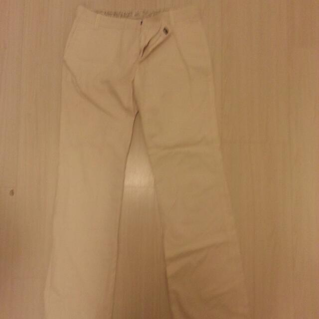 $10 White Pants-MNG