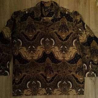 Batik Shirt Size 16 Large