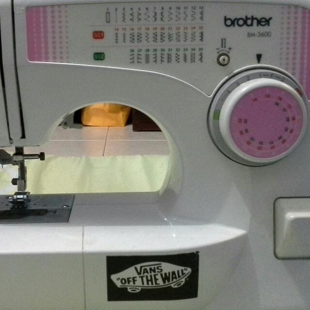 Brother Sewing Machine BM 40 Women's Fashion On Carousell Impressive Brother Sewing Machine Bm 3600