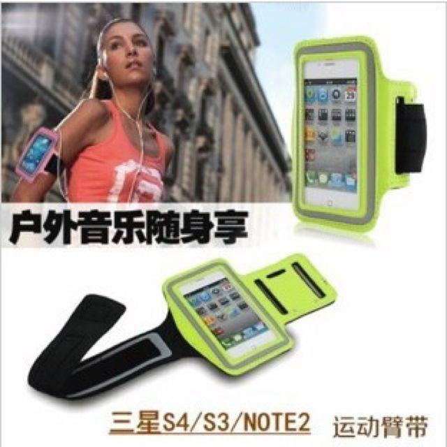 I Phone4 5s及Note2 運動騎腳踏車臂袋