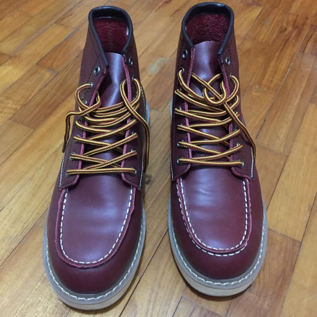 new product 3f62d 77966 Red Wing ( Replica), Men's Fashion on Carousell