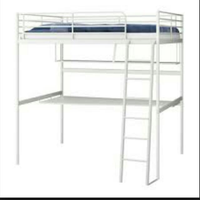 Tromso Loft Bed Ikea Furniture On Carousell