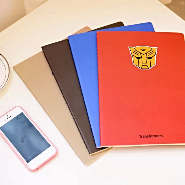 Superheroes Notebook