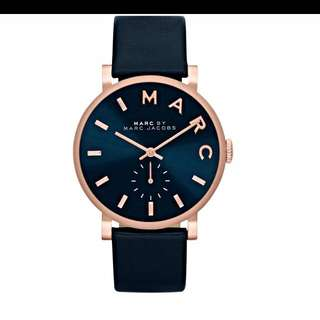Authentic Marc By Marc Jacob Baker Strap Watch