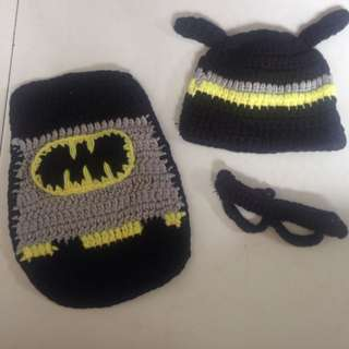 Batman costume for newborn